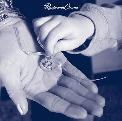 Remember Mom with an engraved charm from Rembrandt and Diane's Designs!